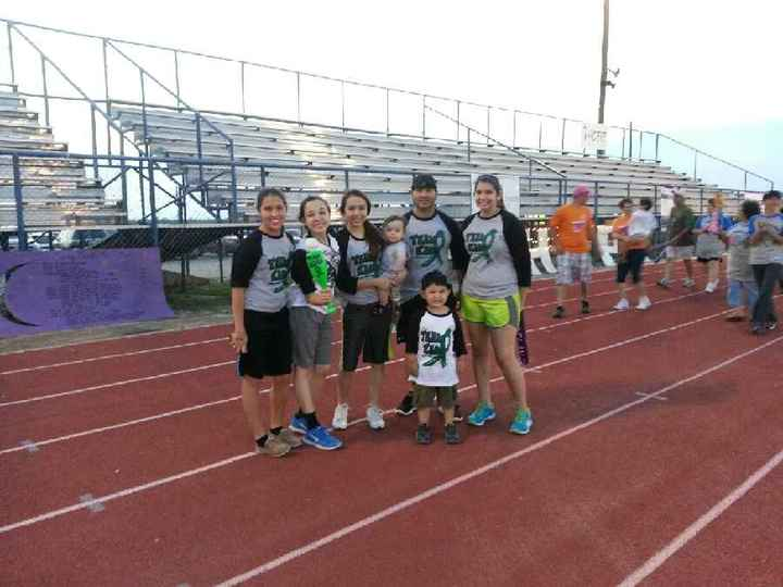 "Duval County Relay For Life.""Team Kaos"" T-Shirt Photo"