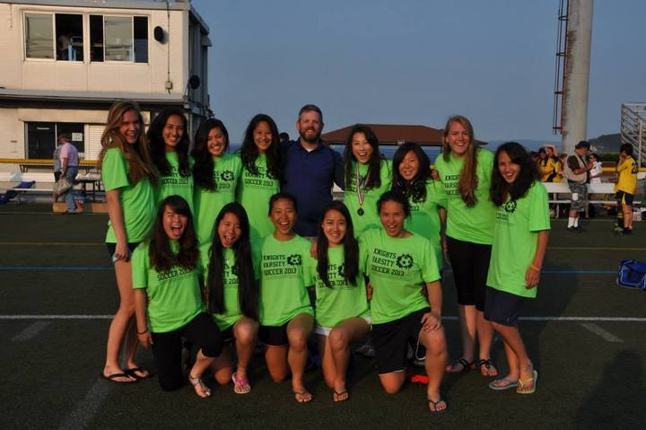 Caj Girls Varsity Soccer 2013 T-Shirt Photo