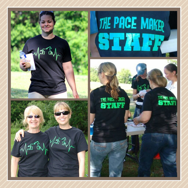 The Pace Maker  Horse Pace Event! T-Shirt Photo