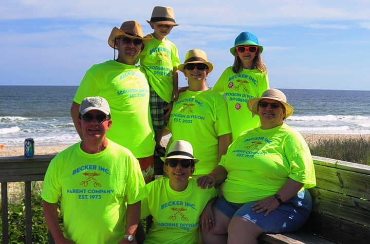 Becker Inc. Beach Retreat T-Shirt Photo