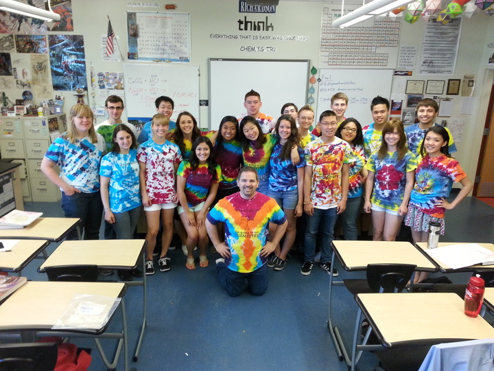 Richardson Ap Chem Class T-Shirt Photo