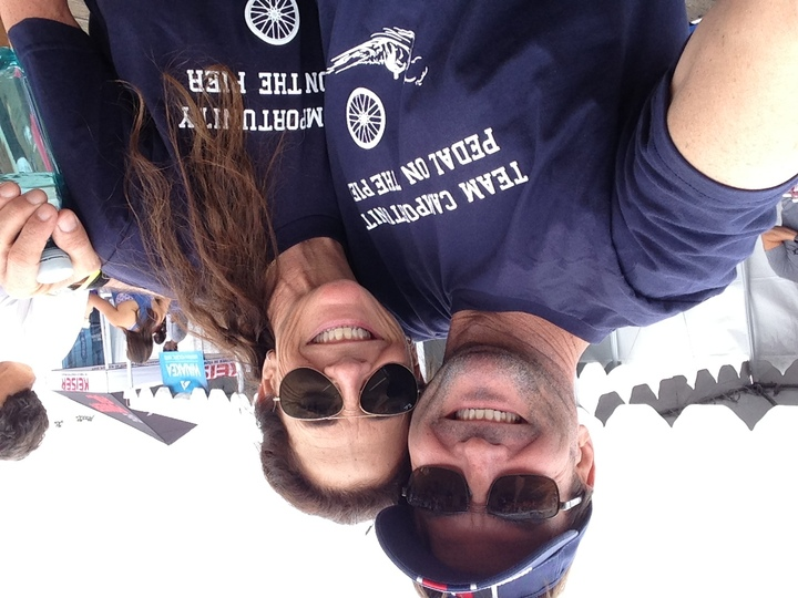 Pedal On The Pier Selfie T-Shirt Photo