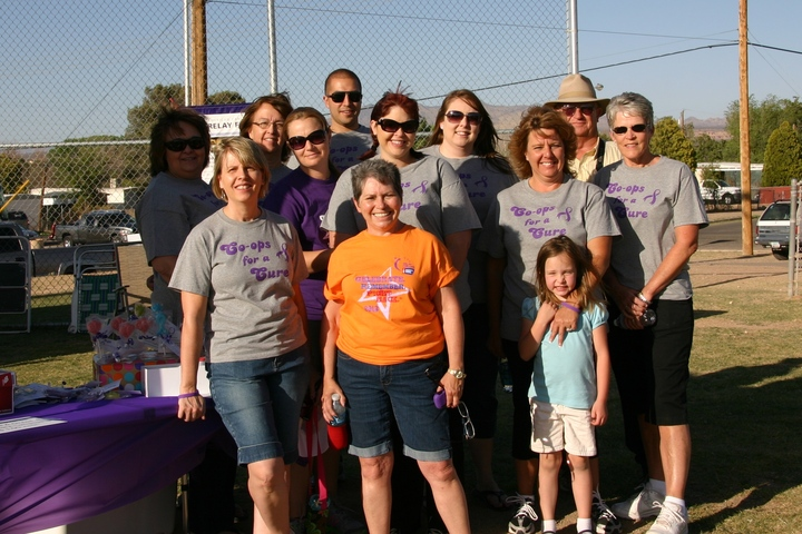 Co Ops For A Cure At Benson Relay For Life T-Shirt Photo