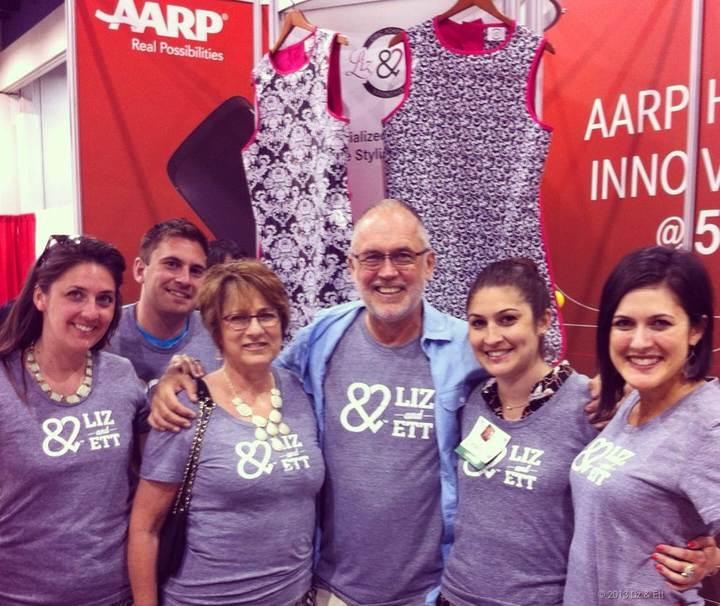 Team Liz & Ett T-Shirt Photo