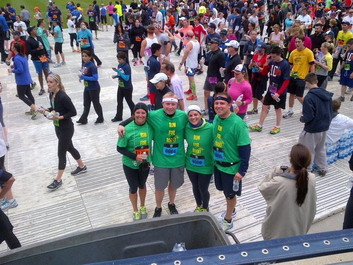 Run For Rook! T-Shirt Photo