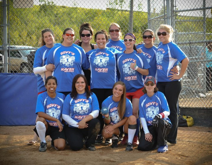 Novy's Haven Women's Softball Team T-Shirt Photo
