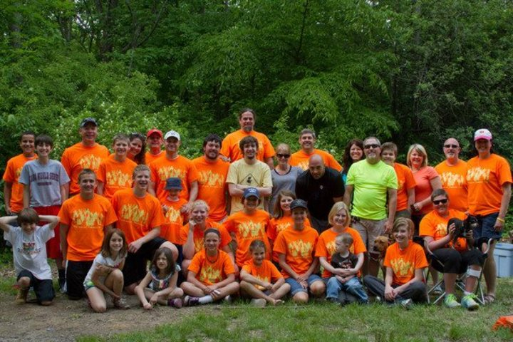 9th Annual Camping Trip T-Shirt Photo