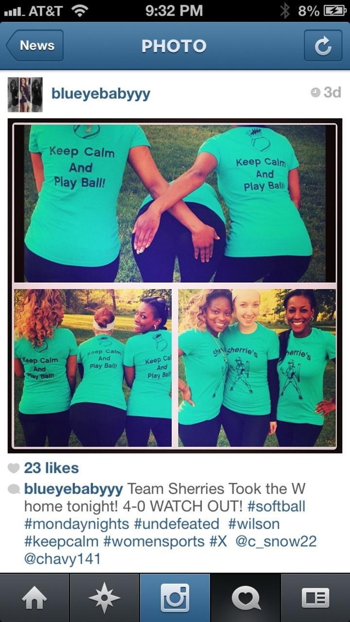 Team Sherrie's T-Shirt Photo
