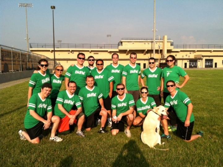 2013 Kickball Team.  Indianapolis, In T-Shirt Photo
