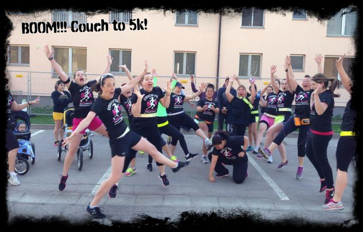 Couch To 5k Illesheim Germany T-Shirt Photo