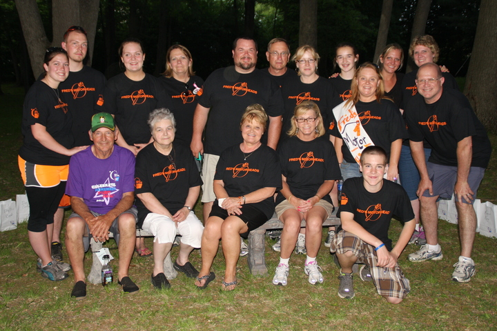 Fred's Motorheads Relay For Life Team T-Shirt Photo