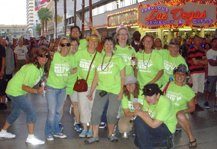 Sheila's 50th Birthday Bash Las Vegas 2013 T-Shirt Photo