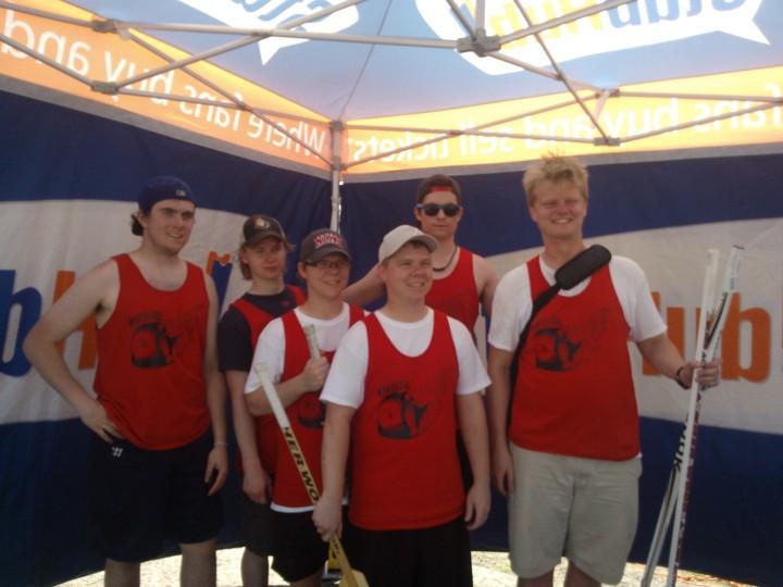 Road Hockey All Stars T-Shirt Photo