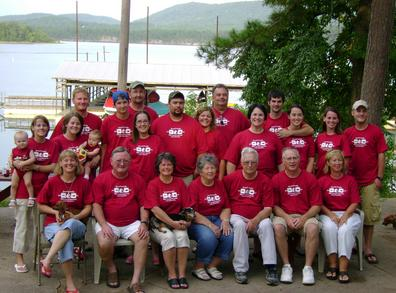 18th Annual Powell Reunion @ Lake Ouachita T-Shirt Photo