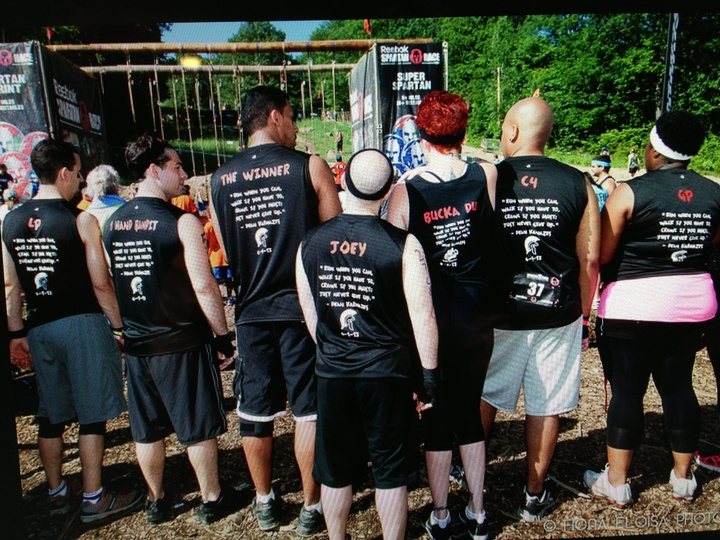 Lhc Diff Breathers At The Spartan Race 6/1/13 T-Shirt Photo