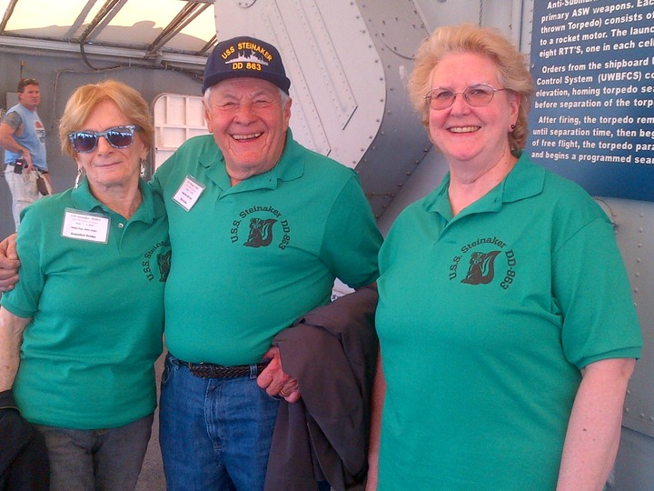 7th Annual Reunion Of The U.S.S. Steinaker T-Shirt Photo
