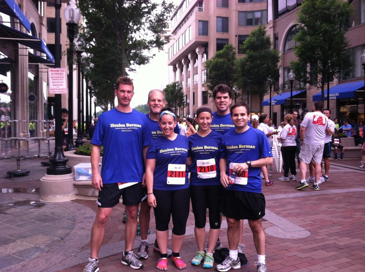 Houlon Berman 10k Race For American Heart Assoc. T-Shirt Photo