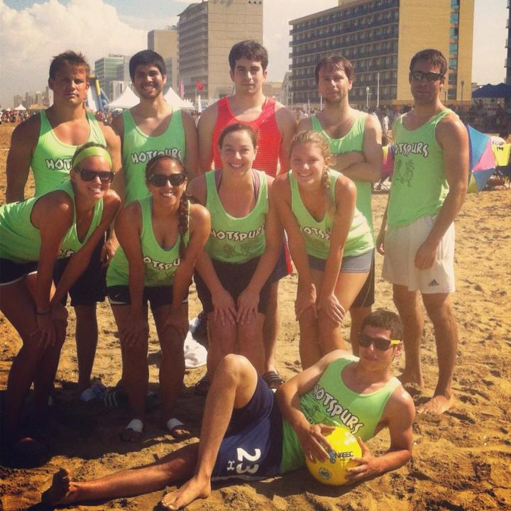 Hotspurs Sand Soccer 2013 T-Shirt Photo
