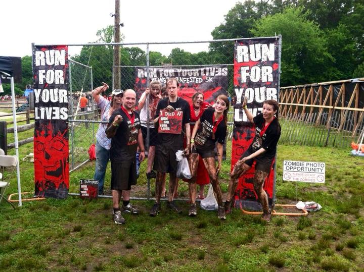 We Looked Really Good Surviving The Zombie Apocalypse! T-Shirt Photo
