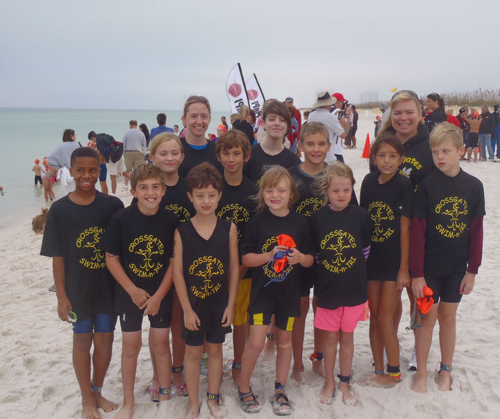 Crossgates Youth Triathlon Team   Sea Turtle Triathlon T-Shirt Photo