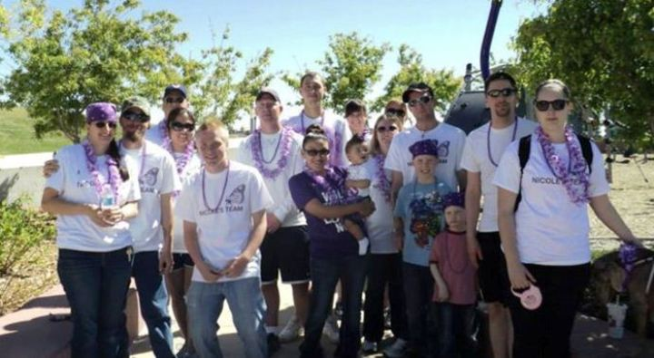 Nicole's Team   Denver Walk To End Lupus Now 2013 T-Shirt Photo