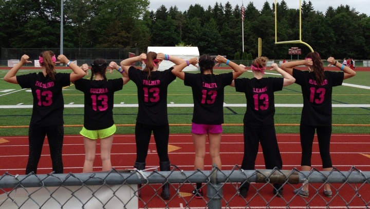 Cats For A Cure Relay For Life T-Shirt Photo