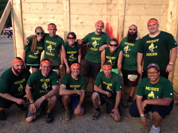 Muddy Ducks Quacked All Over Tough Mudder T-Shirt Photo