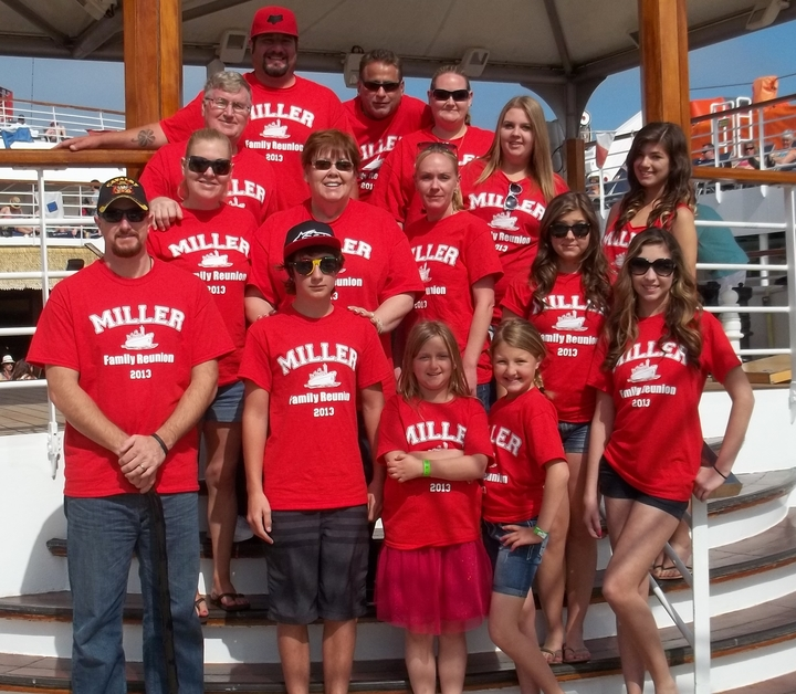 Miller Family Reunion 2013 T-Shirt Photo