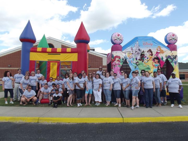 Metompkin Elementary Field Day, Parksley, Va T-Shirt Photo