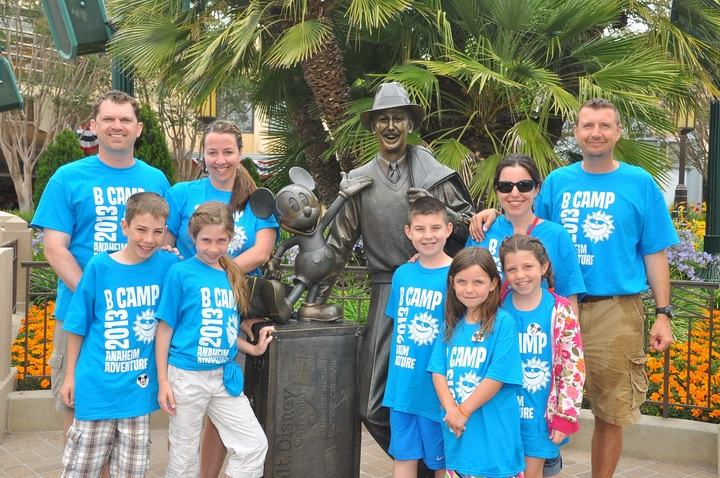 Disney, Friends And Fun! T-Shirt Photo