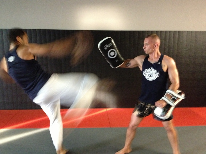 Black Tiger Muay Thai T-Shirt Photo