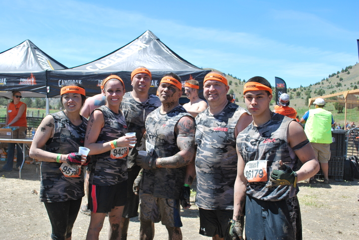 Tough Mudder Oregon 2013   T's Without Sleeves! T-Shirt Photo