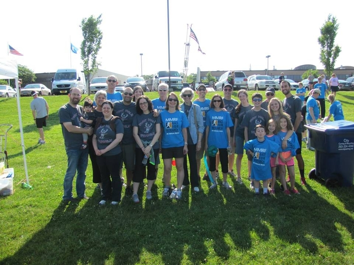 Phat Hal's Phamily At The 2013 Mmrf Race For The Cure T-Shirt Photo