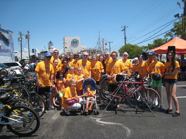 Als Express Bike Ride   Phelan's Phighters T-Shirt Photo