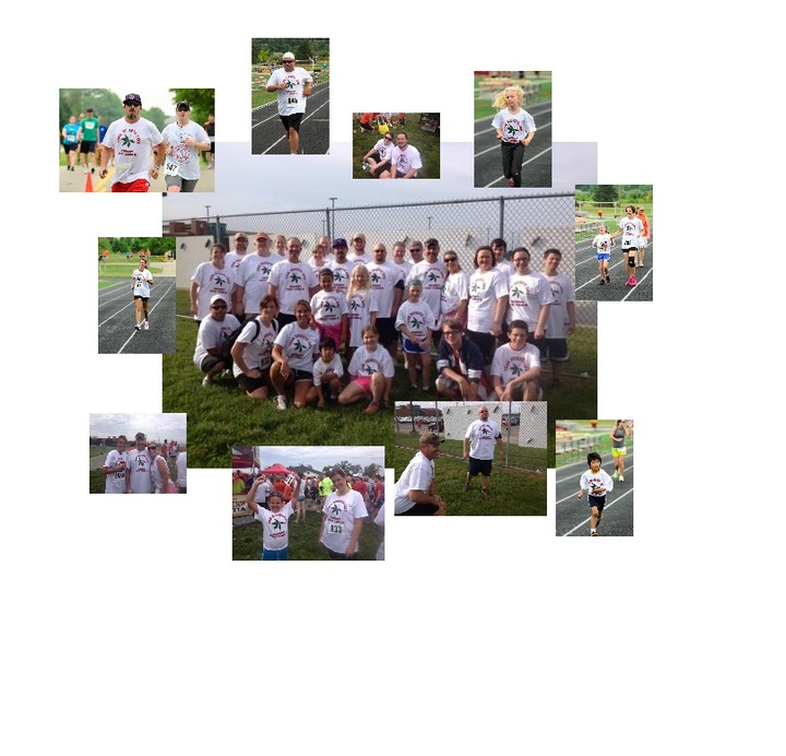 Team Buckeye Dave (Steady Strides For Parkinsons 5 K) T-Shirt Photo