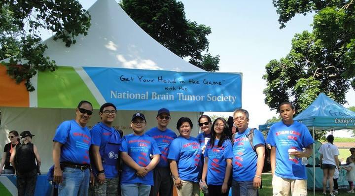 National Brain Tumor Walk, Saturday, June 15, 2013 T-Shirt Photo