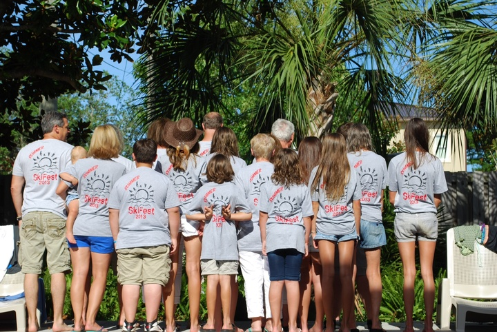 Summer Ski Fest 2013   The Flip Side T-Shirt Photo