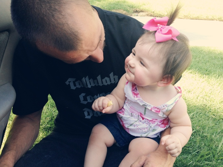 Tallulah Loves Dada T-Shirt Photo