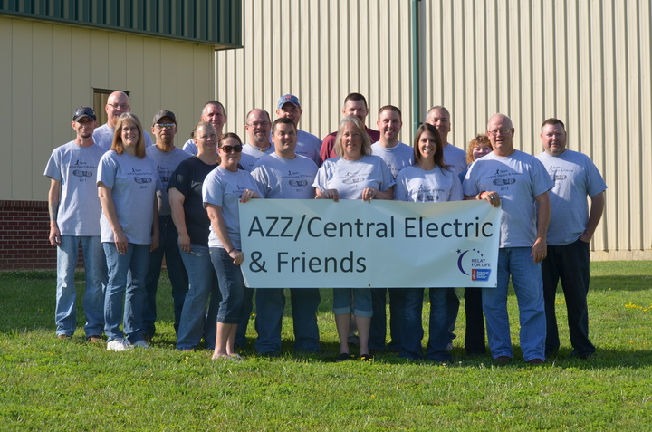 Azz/Central Electric & Friends T-Shirt Photo