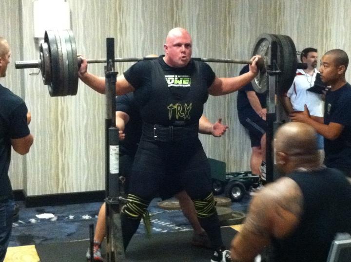 Texas Police Games   635lb Squat T-Shirt Photo