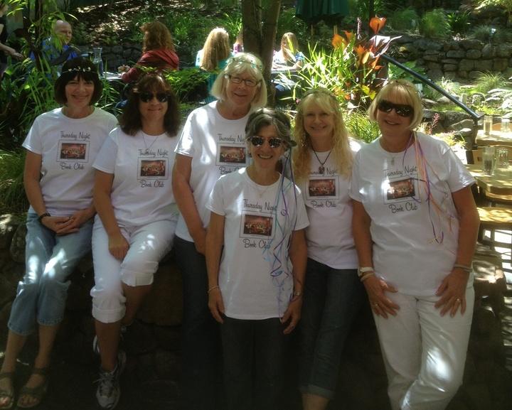 Thursday Night Book Club T-Shirt Photo