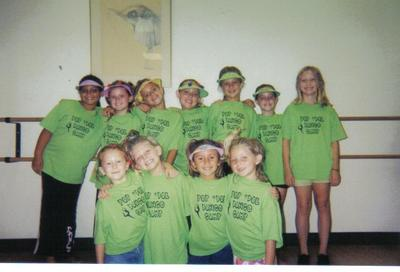 Pop Idol Dance Camp T-Shirt Photo