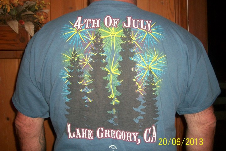 4 Th Of July T-Shirt Photo
