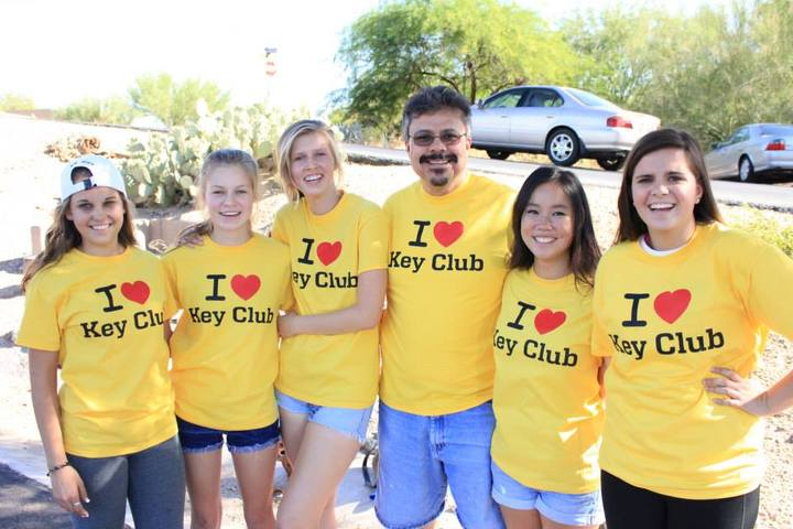 Key Club T-Shirt Photo