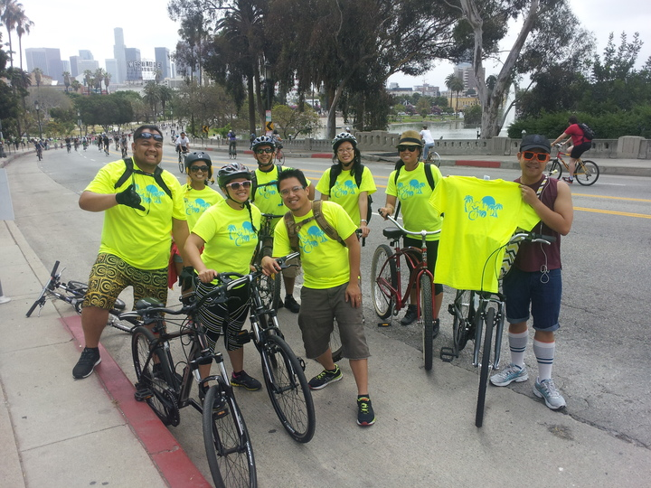 Cic La Via Downtown To Miracle Mile T-Shirt Photo