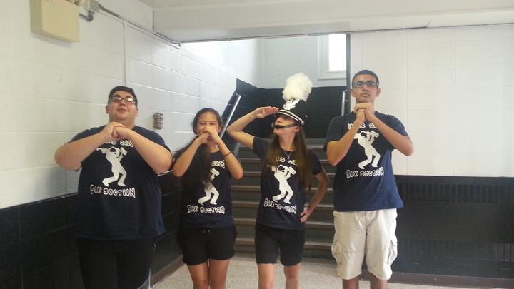 Nahs Saxophone Section! T-Shirt Photo