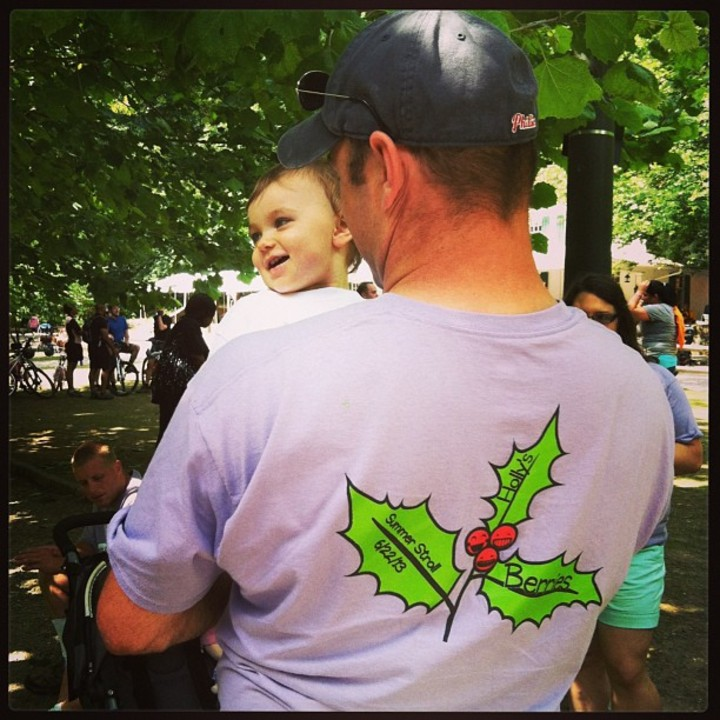 Holly And Daddy  T-Shirt Photo
