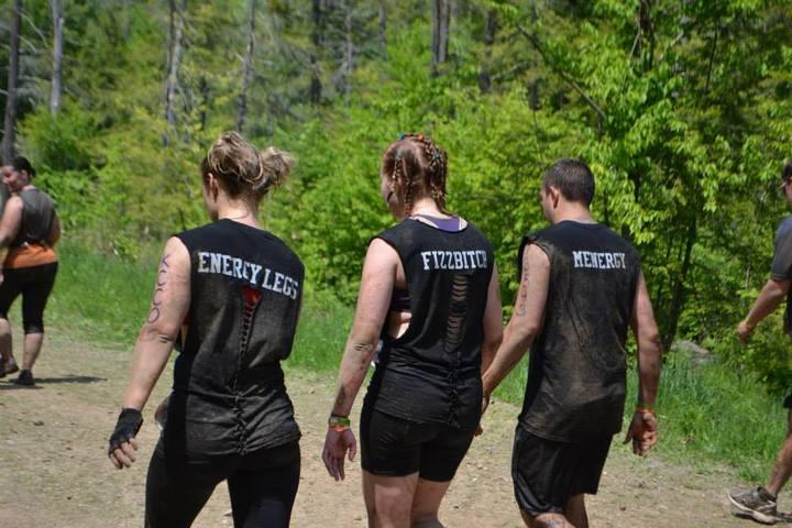 Tough Mudder Boston 2013   Team Powerthirst T-Shirt Photo