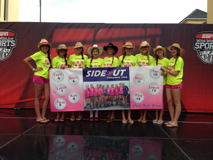 Sideout 13u Volleyball Nationals T-Shirt Photo