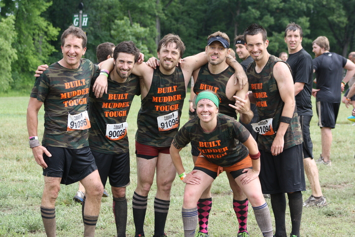 Team Seelbach For The Michigan Tough Mudder  T-Shirt Photo